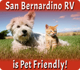 San Bernardino RV Park Is Pet Friendly!